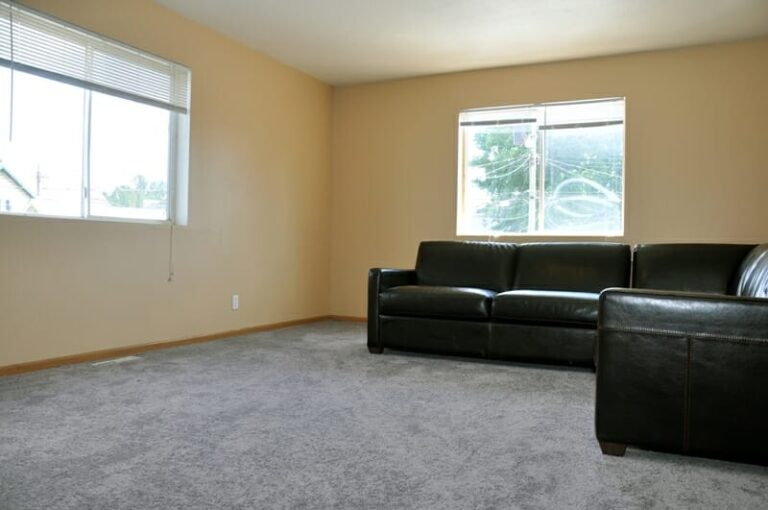 Living room for students looking for apartment in Winona