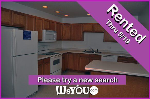 Rented apartment from WsYOU